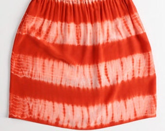 On Sale - Surf Skirt in hand dyed silk