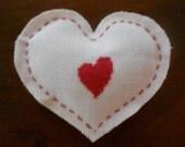 Heart shape sachet- lavander