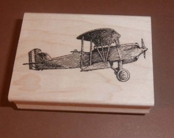 Airplane rubber stamp  P21