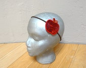 Sparkly Sequined Red Apple Headband