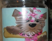 5 New Doggie Treat Jars Your Choice of 1 So Cute a must have for that spoiled baby