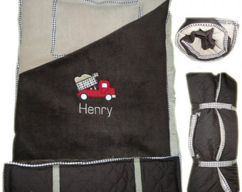 Custom HANDMADE Boys Napmat Design it Yourself. Trucks,Plane,Trains You Choose Your Design Personalization included