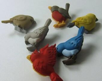 Assorted Birds Novelty Buttons