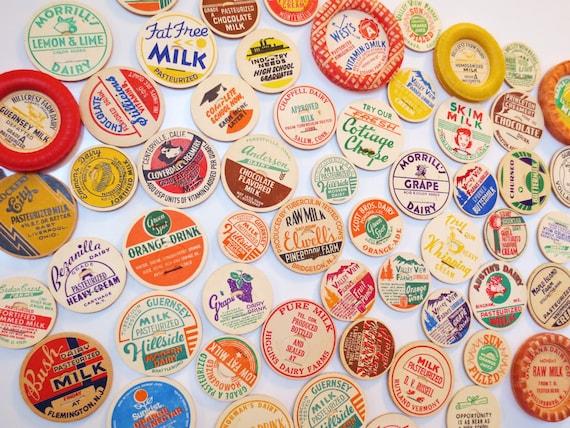 Farmhouse Fresh... Handmade Vintage Milk Cap Bottle Magnets