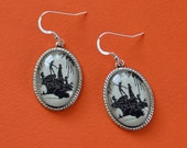 Sale 20% Off // Peter Pan and the Mermaids Earrings  // Coupon Code SALE20