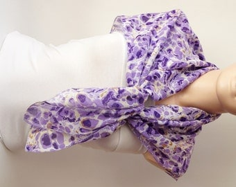 Cotton Scarf, Winter Accessories, PURPLE Spring Scarf