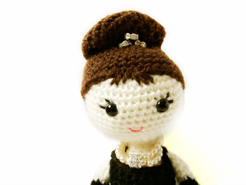 Crochet Doll Pattern Holly Golightly Amigurumi