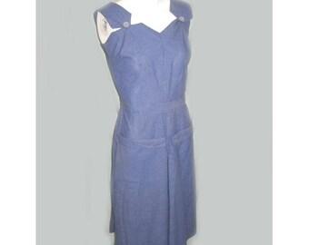 Vintage 1940s WW2 Rosie Riveter Cotton Coulottes