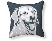 GOLDEN RETRIEVER Pillow (From the Doggie Style Collection)