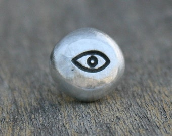 Tie Tack - Lapel Pin - Eyeball