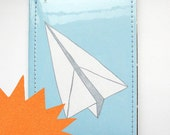 Paper Planes Passport Case (blue)