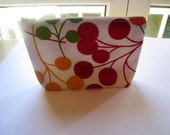 Cherries  - Large Zippered Pouch