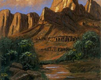 Southern Utah - 11x14 Acrylic Painting