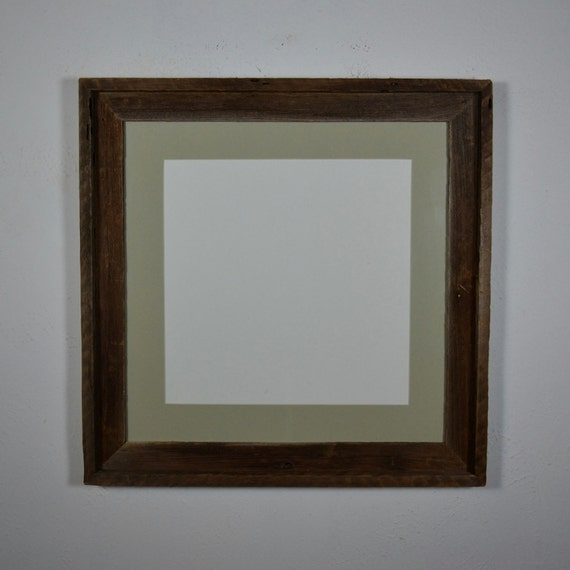 Square 16x16 Photo Frame Light Green 12x12 Mat Free Shipping