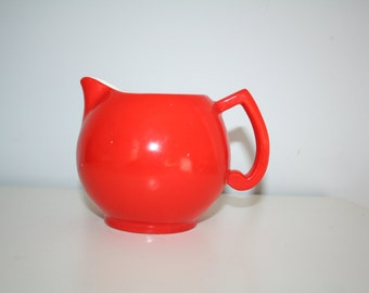 Orange Ceramic Creamer - Great Color