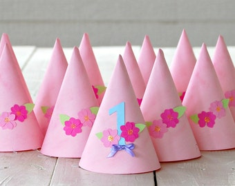 The Garden Party - Custom Party Hats from Mary Had a Little Party