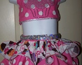 Glitz pageant wear out fit of choice cupcake pattern