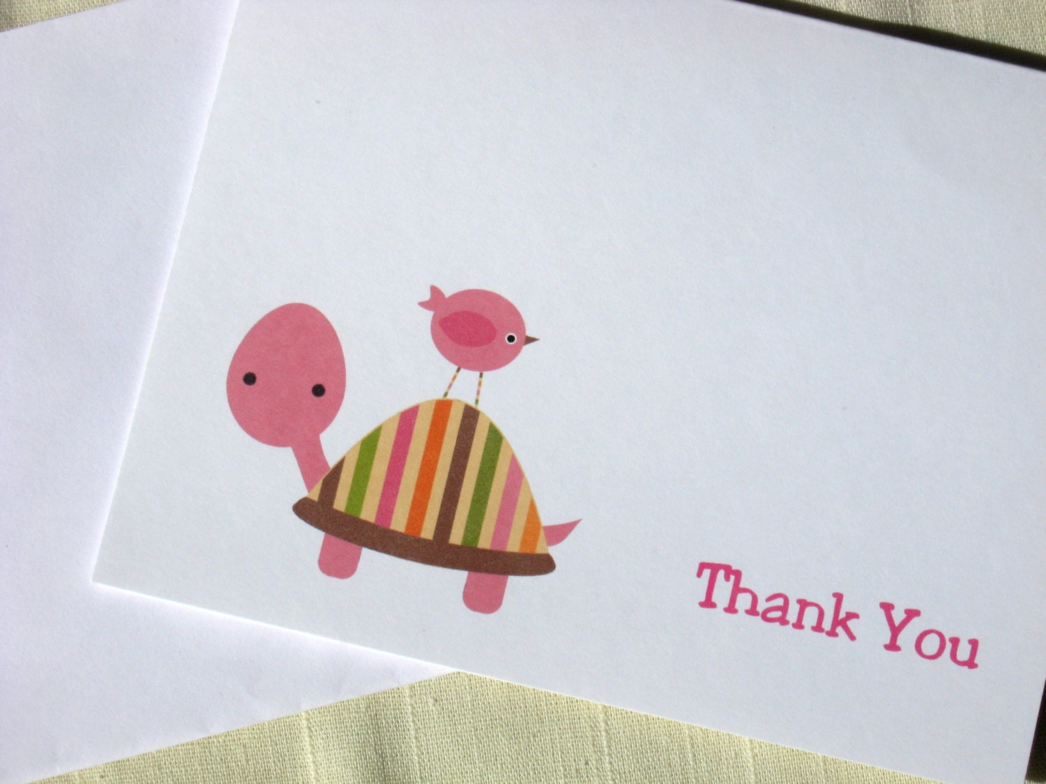 thank you cards baby shower thank yous by delightfuldaisy
