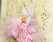 Marie Antoinette Let them eat Cakepops ooak art doll ornament