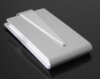 Sleek Metal Business Card Case