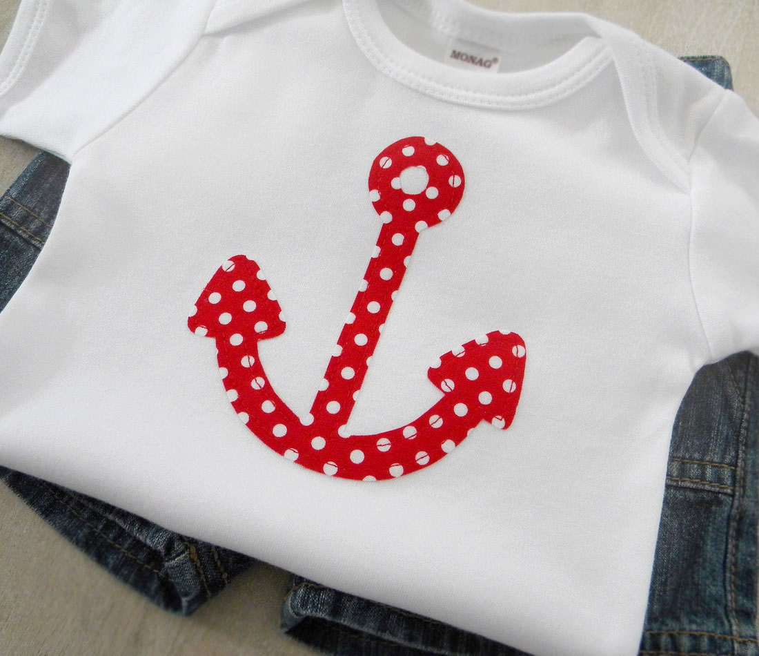 Nautical Baby Clothing Anchor Gender Neutral Baby