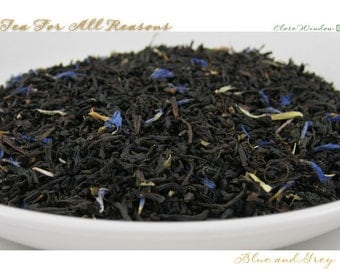 TEA - WINTER SALE - Blue and Grey - (Specialty Black) - 2oz. bag