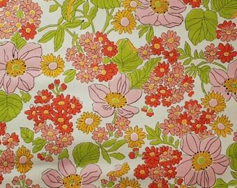 Seventies vintage wallpaper - 50 cm.