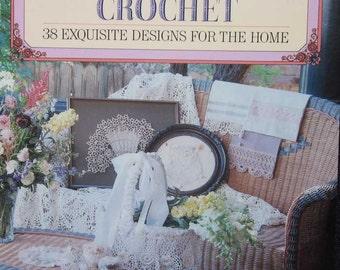 Victorian Lace Crochet Pattern Book Vanessa Ann Collection