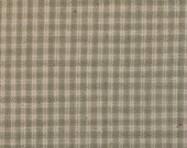 FLAWED Homespun Material | Cotton Material | Quilt Material | Craft Material | Home Decor Material | Small Grey Check Material 29 x 44