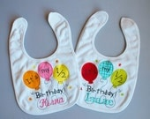 Half Birthday Bib-Personalized