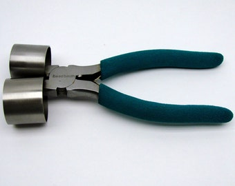 "Large Bracelet Making Pliers with 1-3/8"" and 1-5/8"" Barrels"