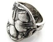 Spoon Ring Life Gives You Lemons Sunkist Art Nouveau