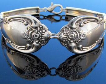 Spoon Bracelet WM.A Rogers Vanessa Oneida Silverware 1965