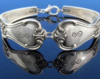 Silver Spoon Bracelet (All Sizes) Signature With S Monogram