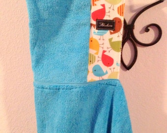 Tweety Bird Turquoise Baby/Toddler/ Child Hooded Bath Beach Pool Towel