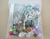 Grab Bag, Beads Assemblage Parts, Recycle, Embellish Surprise Lot