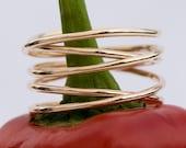 Wrap Ring, 14k gold fill