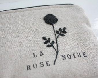 La Rose Noire Pouch-LAST ONE