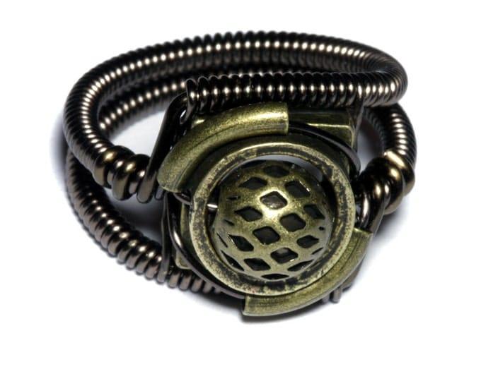 Steampunk Jewelry - Ring - Bronze