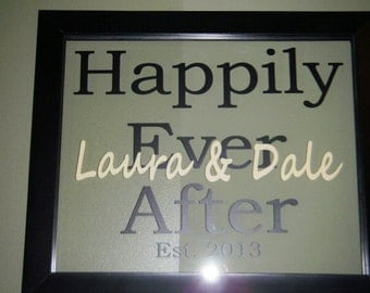 Happily Ever After with names and established date frame