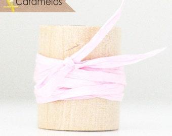 Wholesale 100 yards of Light Pink paper raffia ribbon/twine