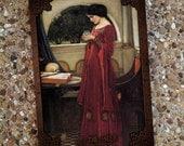 Waterhouse Pre-Raphaelite Journal Sketch Blank Book - The Seer