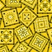 Yellow Best Bandana Cotton Fabric from Kensington Studio for Quilting Treasures 1 Yard