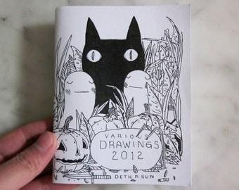 Various Drawings 2012 Zine
