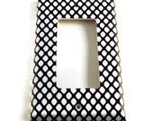 Rocker Light Switch Cover Wall Decor Light Switchplate Switch Plate in  Fishnet (087R)