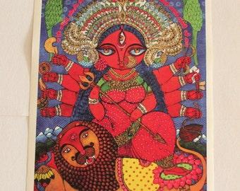 Durga MAXI print