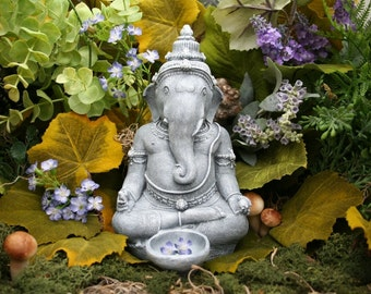 Beautiful Lord Ganesh Statue - Zen / Outdoor Garden Art / Ganesha