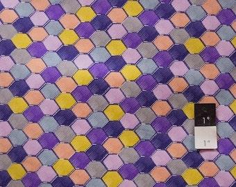 CLEARANCE Free Spirit Design Loft PWFS024 Chiffon Loft Purple Cotton Fabric 1 Yard