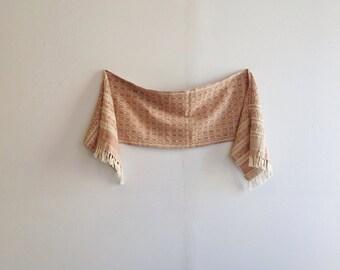 Vintage Woven Cotton Textile.