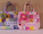 Personalized Bible Bag or Purse, Quilted, Large